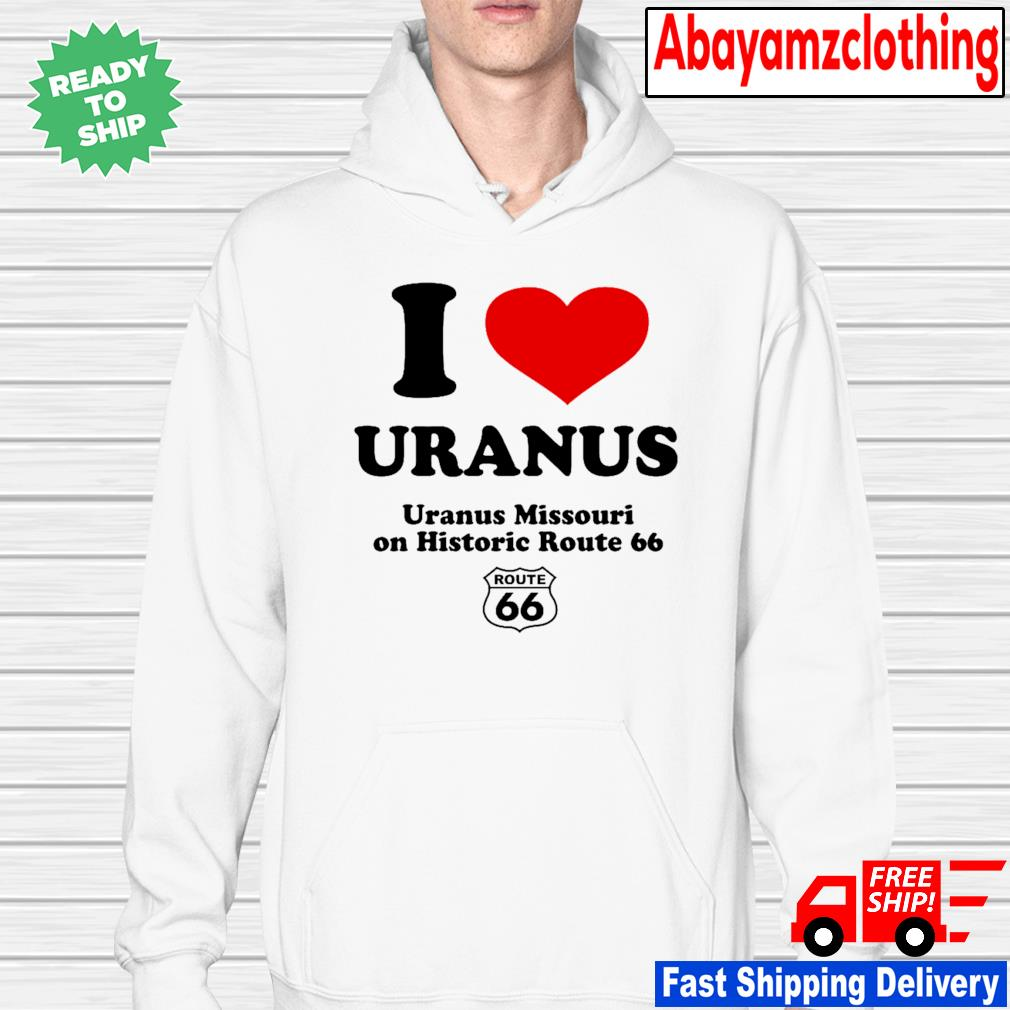 I LOVE Uranus-Hoodie