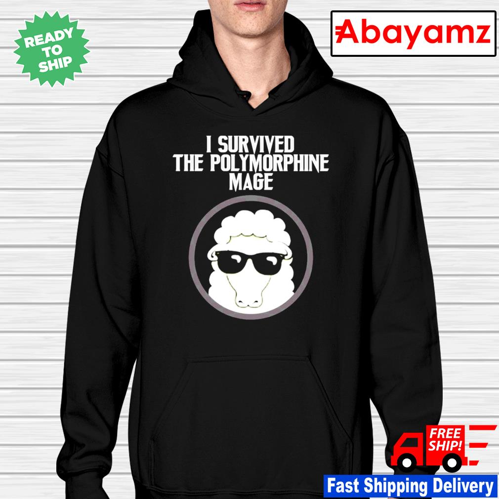 I Survived The Polymorphine Mage hoodie
